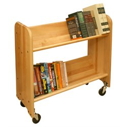 Catskill Craftsmen Rol Rack Book Rack in Natural Birch