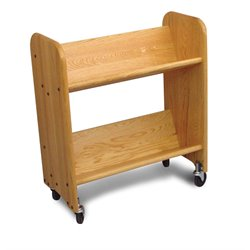 Catskill Craftsmen Bookmaster Book Rack in Natural Oak
