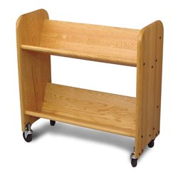 Catskill Craftsmen Rol Rack Book Rack in Natural Oak