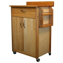 Catskill Craftsmen 27 Inch Butcher Block Kitchen Cart