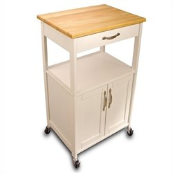 Catskill Craftsmen Butcher Block Kitchen Cart