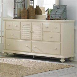 Broyhill Seabrooke Door Dresser in White