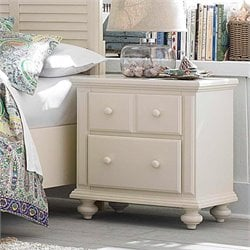 Broyhill Seabrooke Nightstand in White
