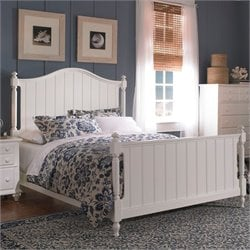 Broyhill Hayden Place Panel Bed in White