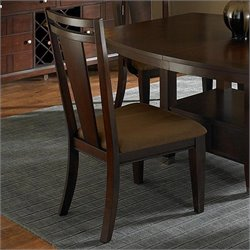 Broyhill Northern Lights  Dining Chair in Dark Walnut Stain