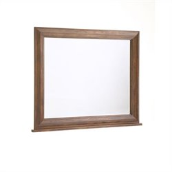 Broyhill Attic Heirlooms Dresser Mirror in Oak