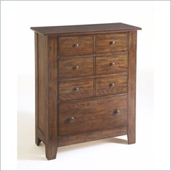 Broyhill Attic Heirlooms 4-Drawer Chest in Oak