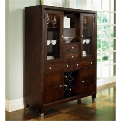 Broyhill Northern Lights Dining Chest in Dark Walnut Stain