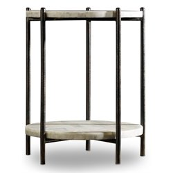 Hooker Melange Blythe 1 Shelf End Table in Black