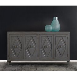 Hooker Melange Raellen Console Table in Gray