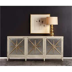 Hooker Melange Star Power 6 Shelf Console Table