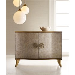 Hooker Melange Golden Swirl Accent Chest in Gold