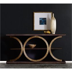 Hooker Melange Presidio Console Table in Gold