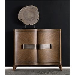 Hooker Melange Evie Accent Chest in Medium Wood