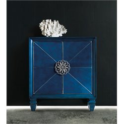 Hooker Melange Spectrum Accent Chest in Blue