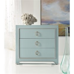 Hooker Melange Lia Drawer 3 Drawer Accent Chest in Blue