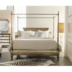 Hooker Montage King Poster Bed