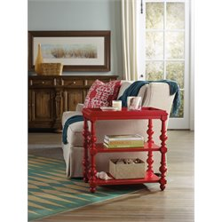 Hooker Sanctuary End Table in Red