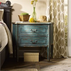 Hooker Sanctuary Nightstand in Sky High Azure Blue