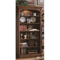 Hooker Brookhaven Open Bookcase in Cherry
