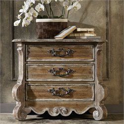 Hooker Chatelet 3 Drawer Nightstand