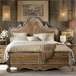 Chatelet Wood Panel Bed