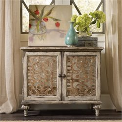 Hooker Chatelet 2 Door Nightstand in Caramel Froth