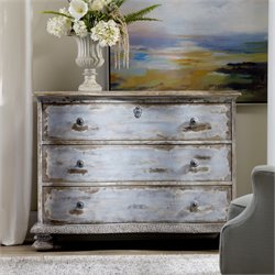 Hooker Chatelet 3 Drawer Accent Chest in Blue