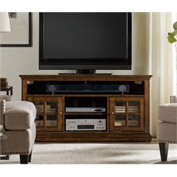 Hooker Brantley TV Stand in Dark Wood