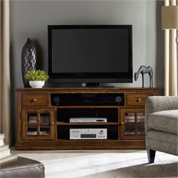 Hooker Brantley 2 Drawer TV Stand in Dark Wood