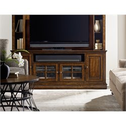 Hooker Brantley 4 Door TV Stand in Brown