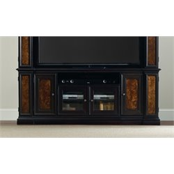 Hooker Coventry TV Stand in Black