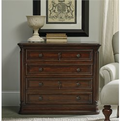 Hooker Haddon 2 Drawer Hall Lateral File Cabinet in Brown