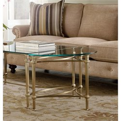 Hooker Highland Park Left or Right End Table in Gold