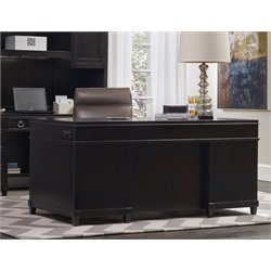 Hooker Kendrick Junior Executive Desk in Brown
