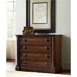 Hooker Leesburg 2 Drawer Lateral File Cabinet in Mahogany