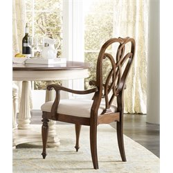Hooker Leesburg Dining Chair in Mahogany