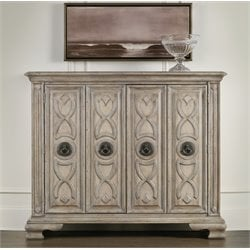 Hooker Ribbon Accent Chest in White