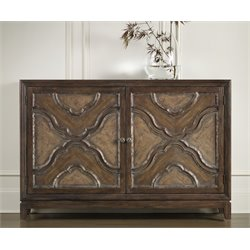 Hooker Motif Accent Chest in Medium Wood