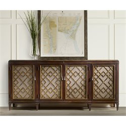 Hooker Sideboard Credenza in Dark Wood