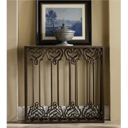 Hooker Thin Hall Console Table in Brown