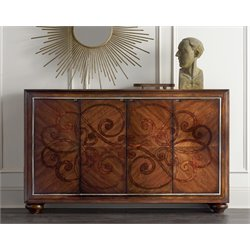 Hooker Accent Chest in Dark Wood