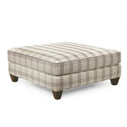 Hooker Furniture Taylor Ottoman in Pebble