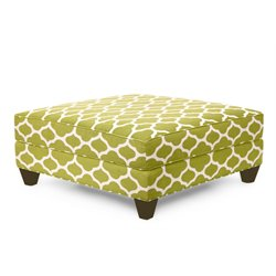 Hooker Furniture Taylor Ottoman in Cilantro