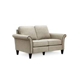 Hooker Furniture Milo Loveseat in Platinum