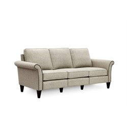 Hooker Furniture Milo Sofa in Platinum