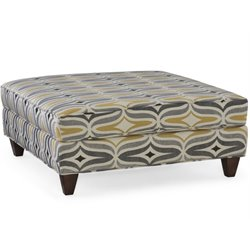 Hooker Furniture Taylor Ottoman in Chinchilla