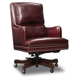 Hooker Furniture Balmoral Sarah Home Office Chair in Red