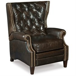 Hooker Furniture Balmoral Blair Recliner in Brown
