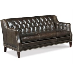Hooker Furniture Balmoral Blair Stationary Sofa in Brown